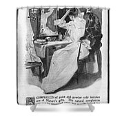 Soap Advertisement, 1902 Shower Curtain