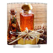 Soap And Fragrance Oils Shower Curtain