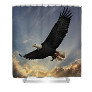 Soar To New Heights Shower Curtain
