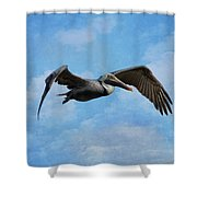Soaring By Shower Curtain