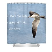 Soaring High 2 Shower Curtain