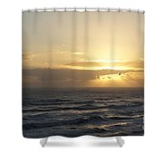Soaring Sunrise Shower Curtain