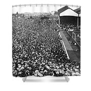 Soccer Crowd At Highbury Shower Curtain