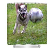 Soccer Time Shower Curtain