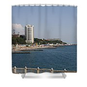 Sochi Bathing Resort At The Black Sea Shower Curtain