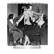 Society Women In Benefit Play Shower Curtain