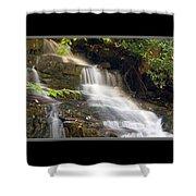 Soco Falls Small Cascade North Carolina Shower Curtain