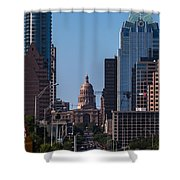So Co View Of The Texas Capitol Shower Curtain