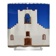 Socorro Mission La Purisima Texas Shower Curtain