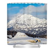 Soda Butte Shower Curtain
