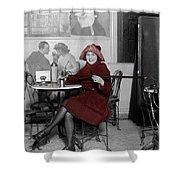 Soda Fountain 3 Shower Curtain