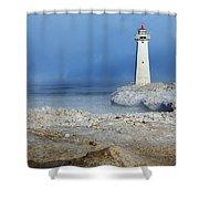 Sodus Point Lighthouse Shower Curtain
