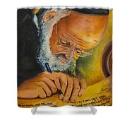 Sofer Stam Shower Curtain