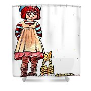 Sofie Shower Curtain
