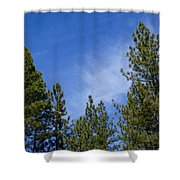 Soft And Gentle Sky Shower Curtain