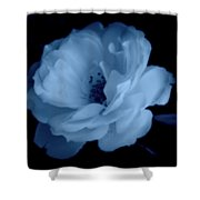 Soft Blue Perfection Shower Curtain