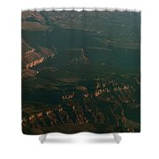 Soft Early Morning Light Over The Grand Canyon 2 Shower Curtain