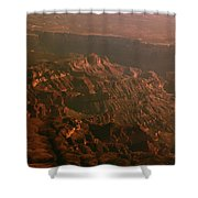Soft Early Morning Light Over The Grand Canyon 3 Shower Curtain