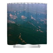 Soft Early Morning Light Over The Grand Canyon 5 Shower Curtain