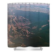 Soft Early Morning Light Over The Grand Canyon Shower Curtain