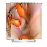 Soft Feelings Shower Curtain