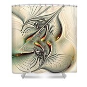 Soft Glow Shower Curtain