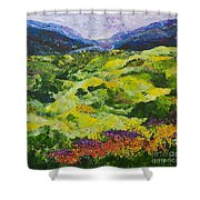 Soft Grass Shower Curtain