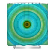 Soft Healing - Energy Art By Sharon Cummings Shower Curtain by Sharon Cummings
