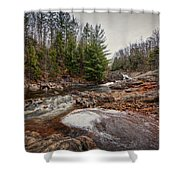 Soft Maple Water Fall Shower Curtain