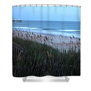 Soft Ocean Shower Curtain