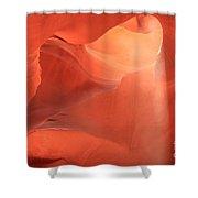 Soft Pink Light Shower Curtain