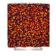 Soft Primary Shower Curtain