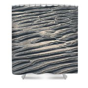 Soft Ripples Shower Curtain