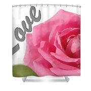 Soft Rose Shower Curtain