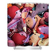 Soft Toys 02 Shower Curtain
