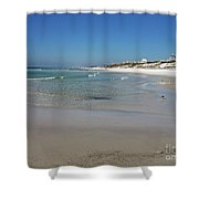 Soft Waves Shower Curtain