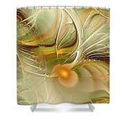 Soft Wings Shower Curtain