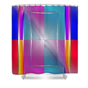 Soft Wobbling  Shower Curtain