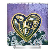 Softened Heart Best Reflections Energy Collection Shower Curtain