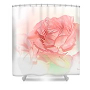 Softly Pink Shower Curtain