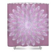Softly Purple Shower Curtain