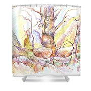 Softly Speaking Shower Curtain