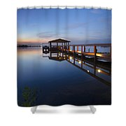 Softly The Morning Arrives Shower Curtain
