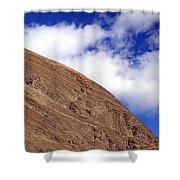 Soil And Air Shower Curtain