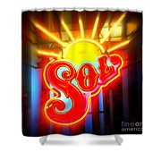 Sol Shower Curtain