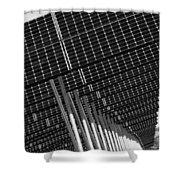 Solar City Shower Curtain
