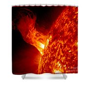 Solar Eruption Shower Curtain