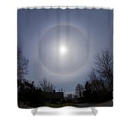 Solar Halo Shower Curtain