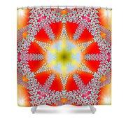 Solar Lava Shower Curtain