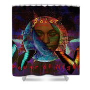 Solar Night Shower Curtain